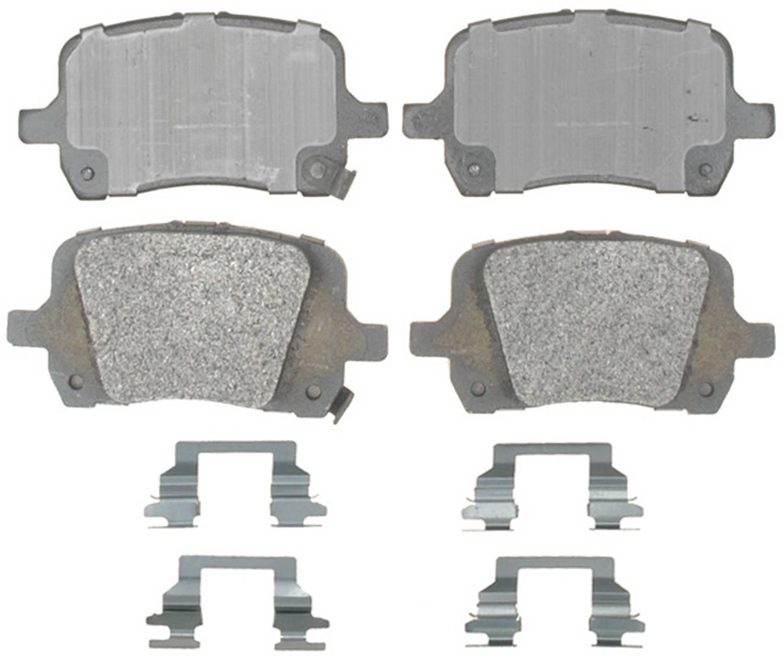 ACDELCO PROFESSIONAL BRAKES - Semi Metallic Disc Brake Pad (Front) - ADU 17D1028AMH
