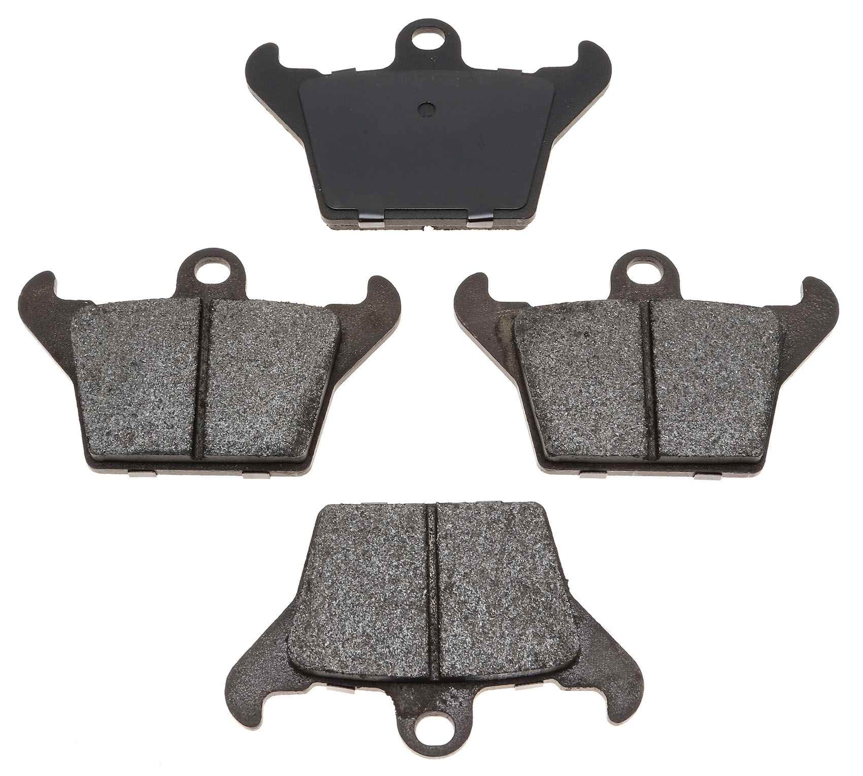 ACDELCO PROFESSIONAL BRAKES - Semi Metallic Parking Brake Pad Set - ADU 17D1034M