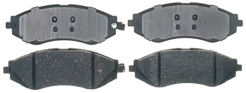 ACDELCO GOLD/PROFESSIONAL BRAKES - Ceramic Disc Brake Pad (Front) - ADU 17D1035C