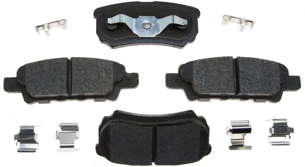 ACDELCO PROFESSIONAL BRAKES - Ceramic Disc Brake Pad (Rear) - ADU 17D1037CH