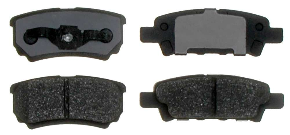 ACDELCO PROFESSIONAL BRAKES - Ceramic Disc Brake Pad (Rear) - ADU 17D1037C