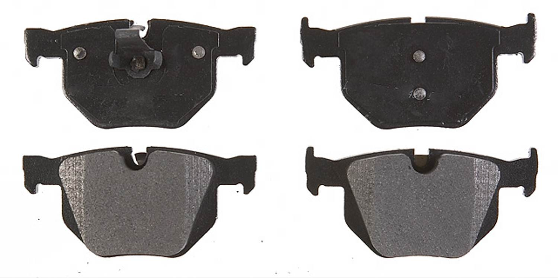 ACDELCO PROFESSIONAL BRAKES - Semi Metallic Disc Brake Pad (Rear) - ADU 17D1042M