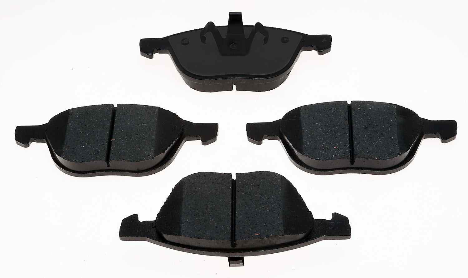 ACDELCO PROFESSIONAL BRAKES - Ceramic Disc Brake Pad (Front) - ADU 17D1044CF1