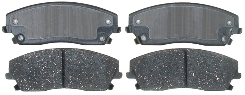 ACDELCO PROFESSIONAL BRAKES - Ceramic Disc Brake Pad (Front) - ADU 17D1056C