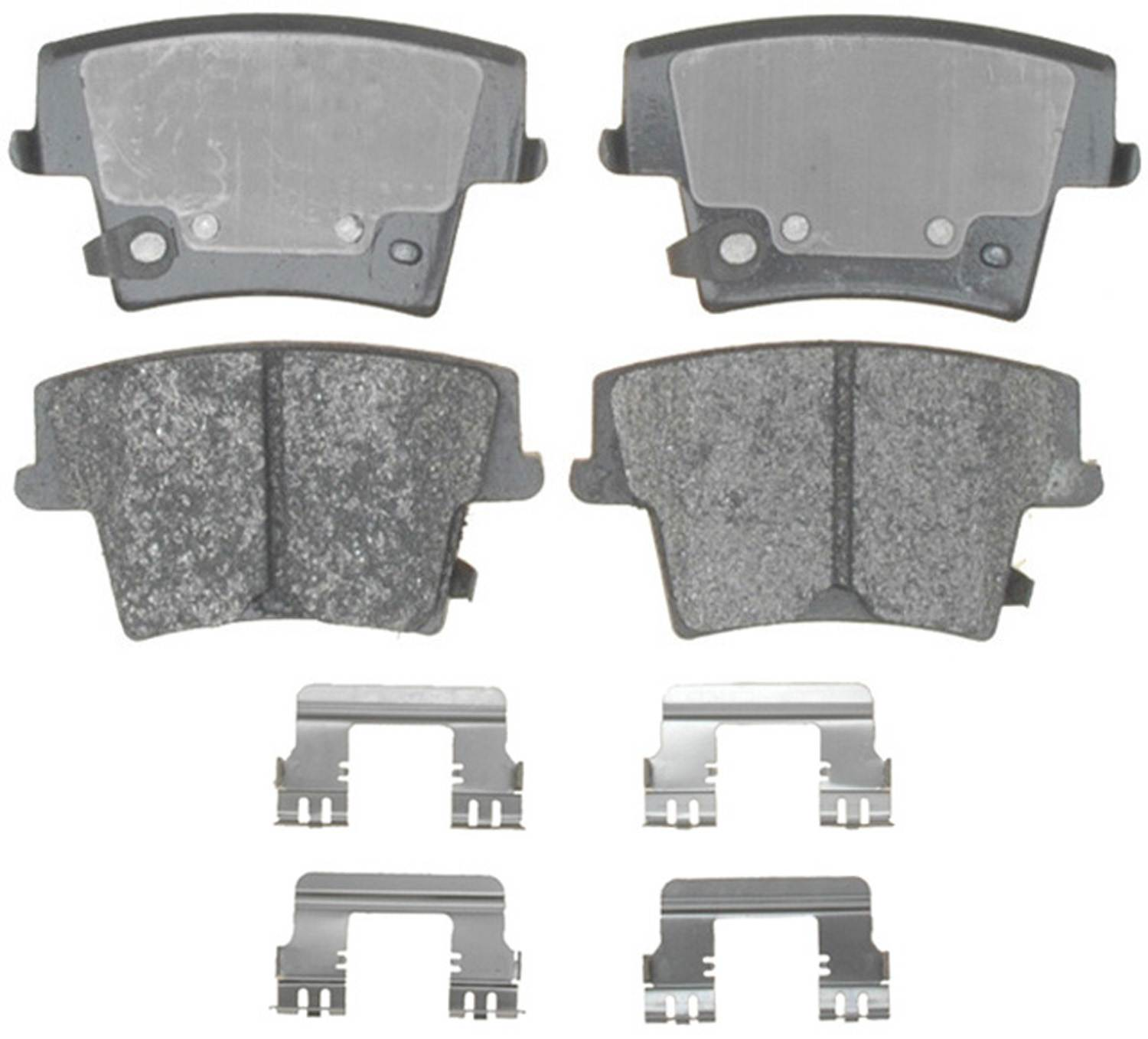 ACDELCO SPECIALTY - Police Semi-Metallic Disc Brake Pad (Rear) - DCE 17D1057AMHPV