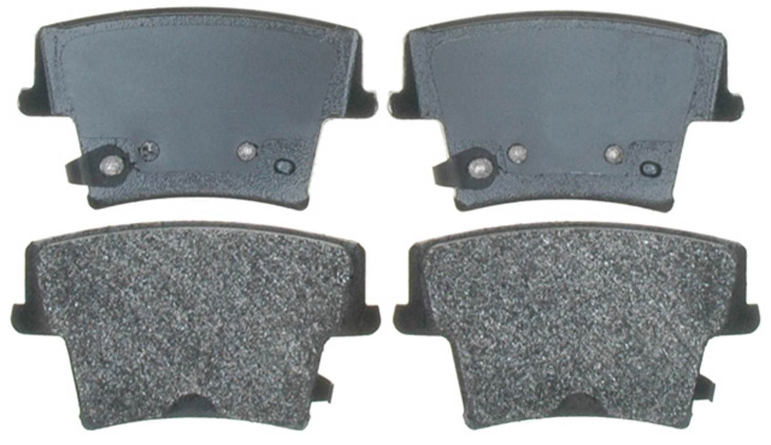 ACDELCO PROFESSIONAL BRAKES - Semi Metallic Disc Brake Pad (Rear) - ADU 17D1057AM