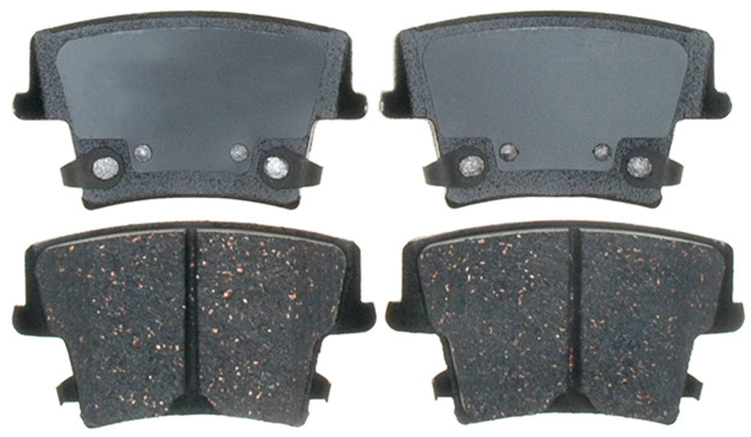 ACDELCO PROFESSIONAL BRAKES - Ceramic Disc Brake Pad (Rear) - ADU 17D1057C