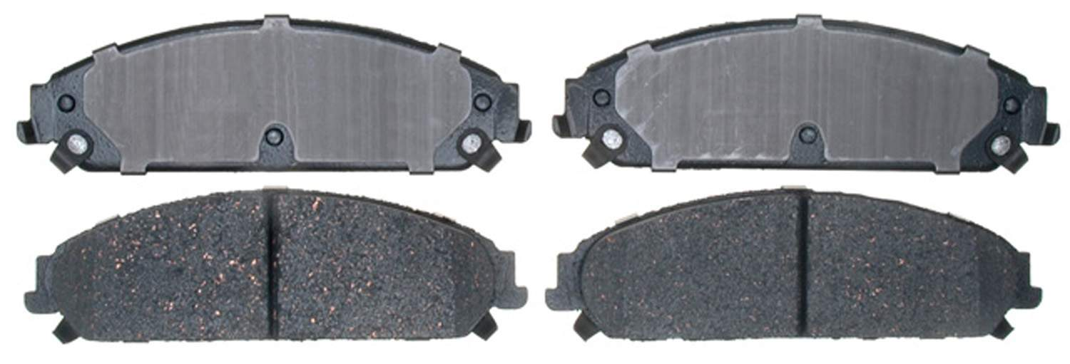 ACDELCO PROFESSIONAL BRAKES - Ceramic Disc Brake Pad (Front) - ADU 17D1058C