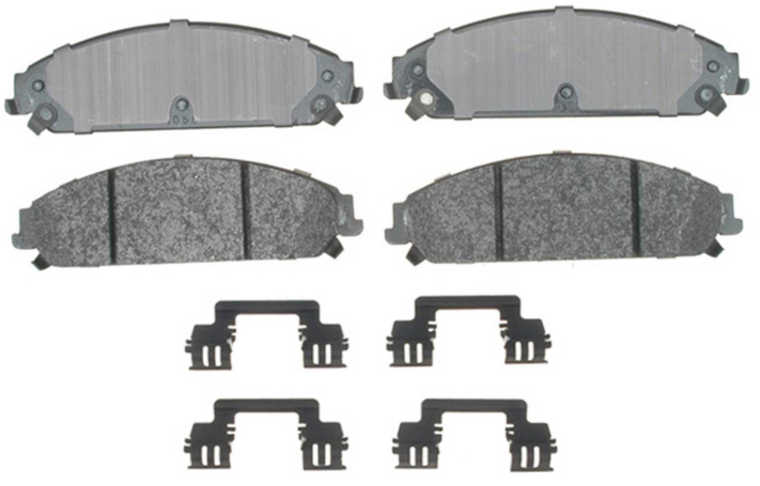 ACDELCO SPECIALTY - Police Semi-Metallic Disc Brake Pad (Front) - DCE 17D1058MHPV