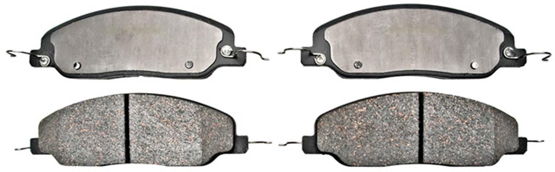 ACDELCO PROFESSIONAL BRAKES - Ceramic Disc Brake Pad - ADU 17D1081C