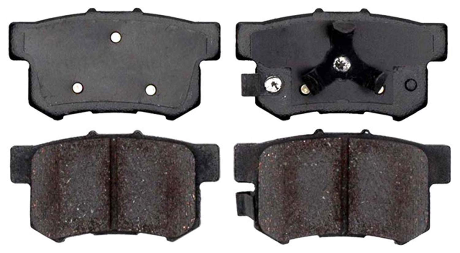 ACDELCO PROFESSIONAL BRAKES - Ceramic Disc Brake Pad (Rear) - ADU 17D1086C