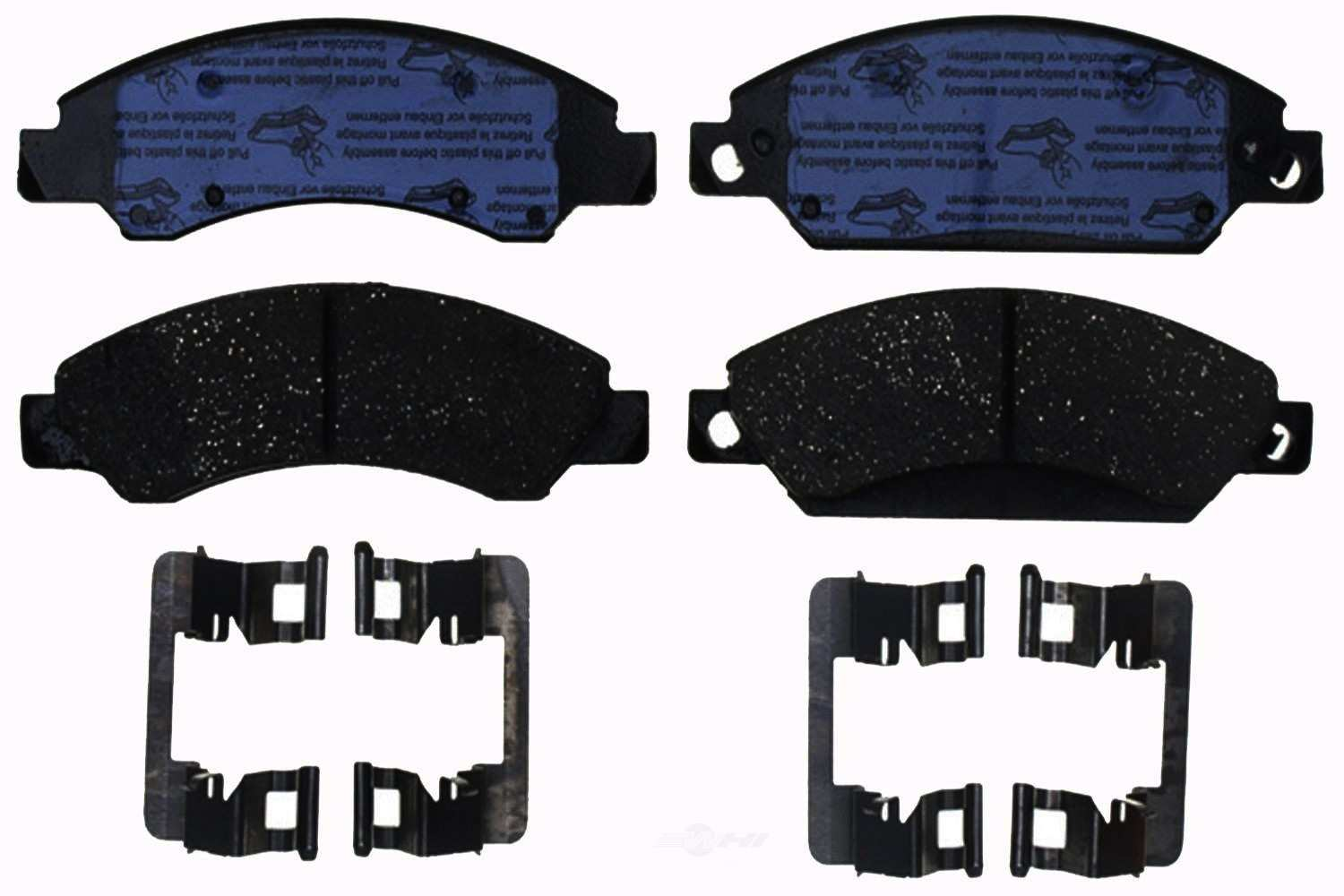 ACDELCO PROFESSIONAL BRAKES - Ceramic Disc Brake Pad (Front) - ADU 17D1092CH