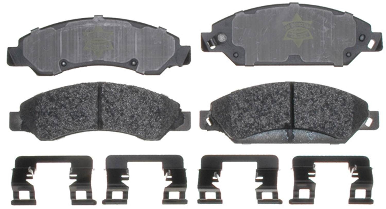 ACDELCO SPECIALTY - Police Semi-Metallic Disc Brake Pad (Front) - DCE 17D1092MHPV