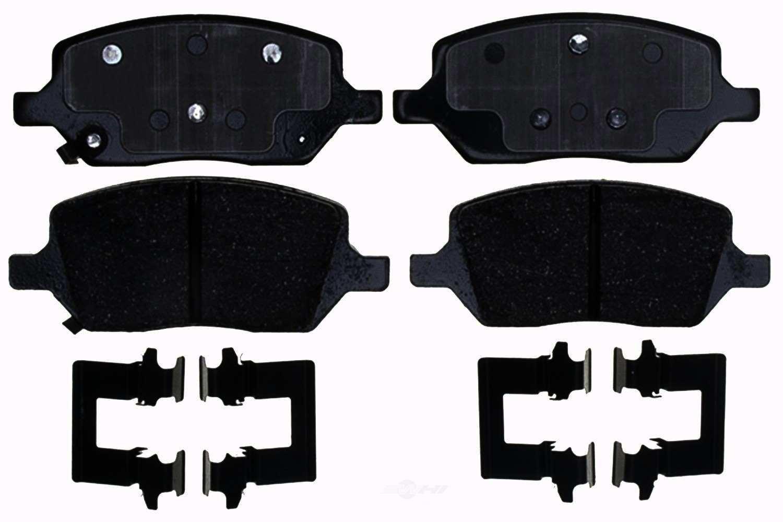 ACDELCO GOLD/PROFESSIONAL BRAKES - Ceramic Disc Brake Pad (Rear) - ADU 17D1093CH
