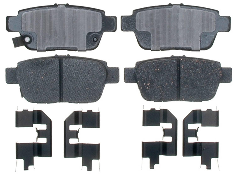 ACDELCO PROFESSIONAL  DURASTOP - Ceramic Brake Pad - ADU 17D1103CH