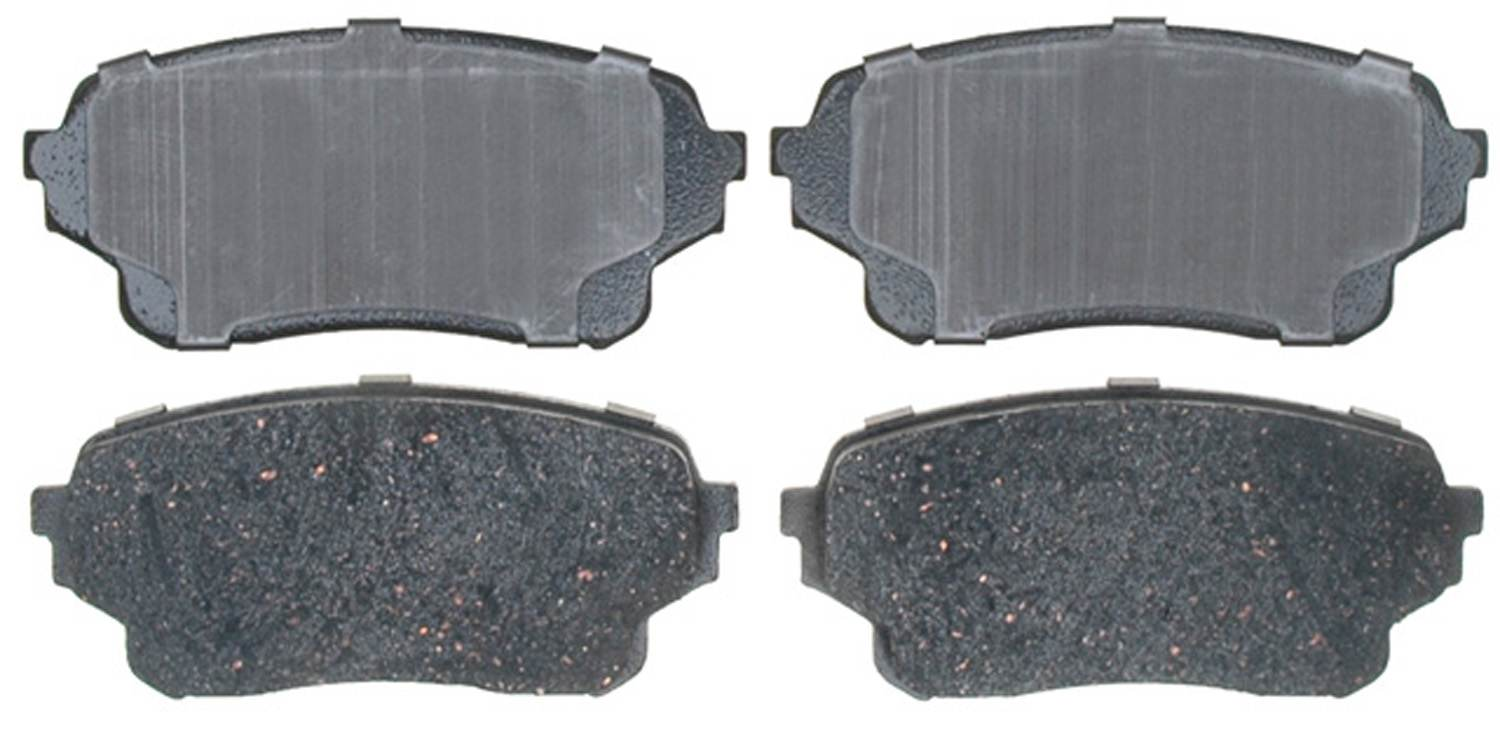 ACDELCO PROFESSIONAL BRAKES - Ceramic Disc Brake Pad (Front) - ADU 17D1105C