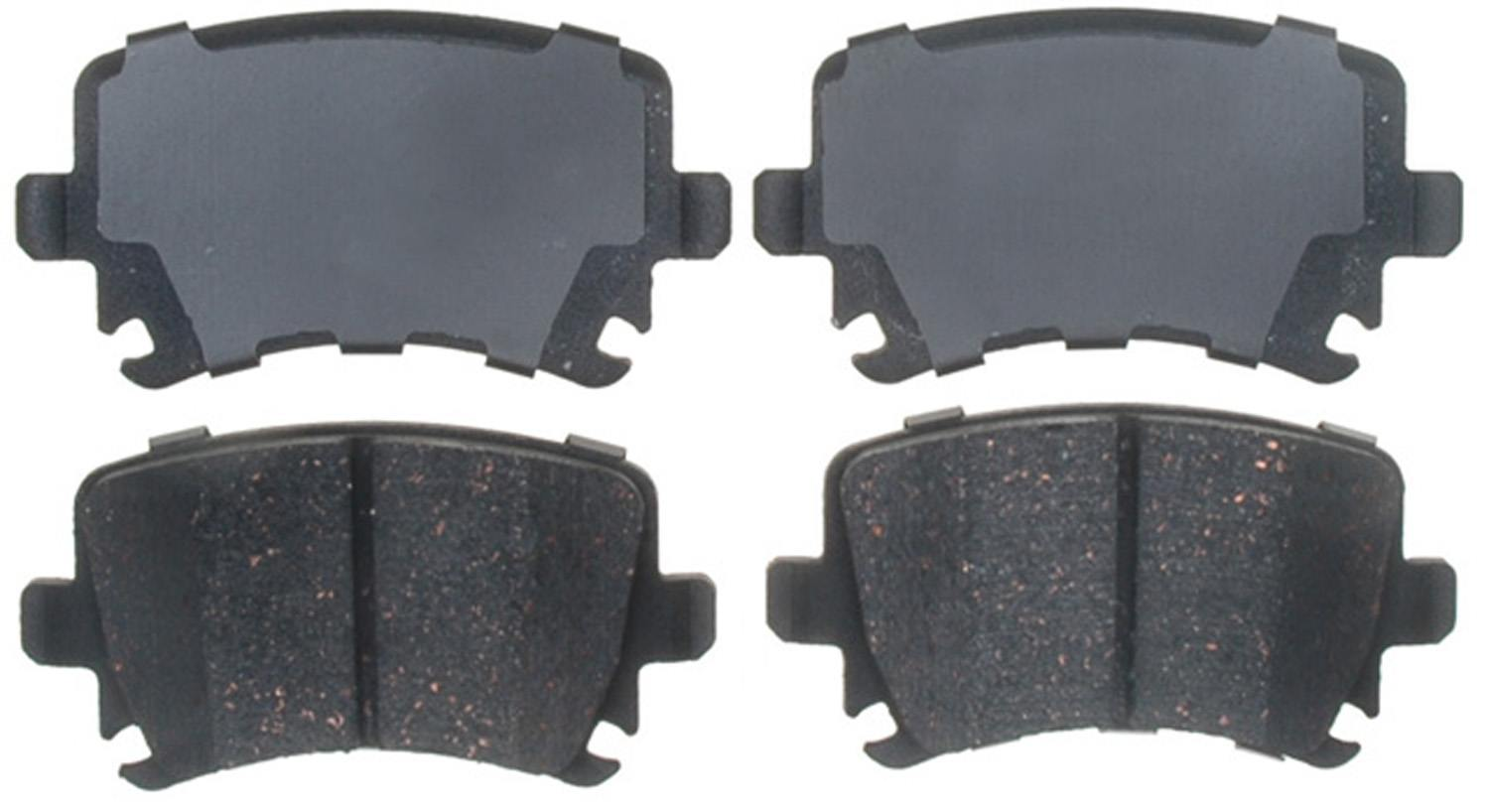 ACDELCO PROFESSIONAL BRAKES - Ceramic Disc Brake Pad (Rear) - ADU 17D1108C