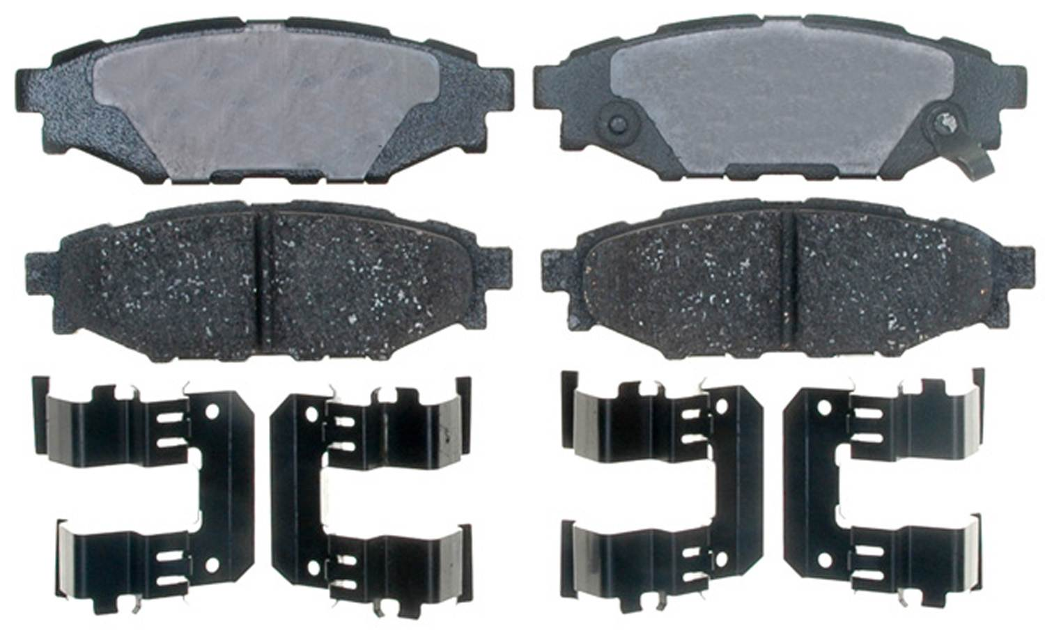 ACDELCO PROFESSIONAL BRAKES - Ceramic Disc Brake Pad (Rear) - ADU 17D1114CH