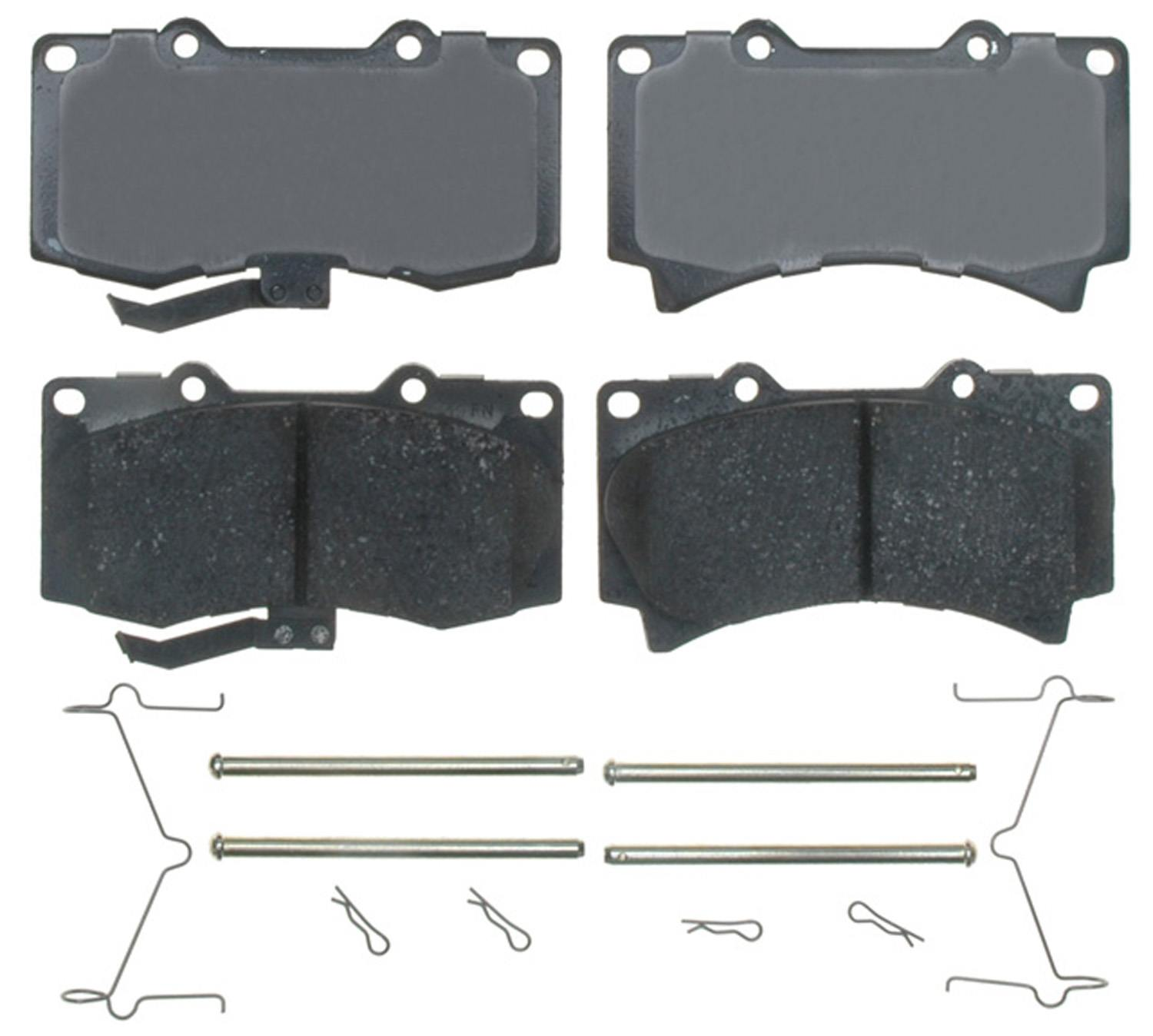 ACDELCO GOLD/PROFESSIONAL BRAKES - Ceramic Disc Brake Pad (Front) - ADU 17D1119CH
