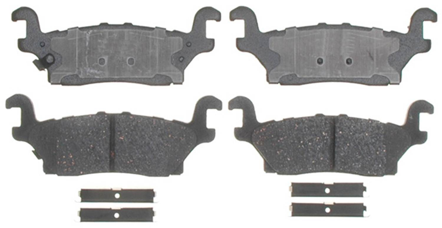 ACDELCO GOLD/PROFESSIONAL BRAKES - Ceramic Disc Brake Pad (Rear) - ADU 17D1120CH