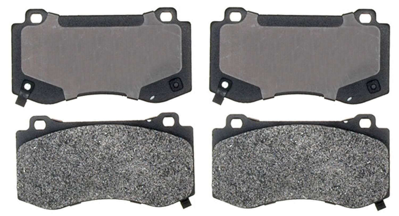 ACDELCO PROFESSIONAL BRAKES - Semi Metallic Disc Brake Pad (Front) - ADU 17D1149M
