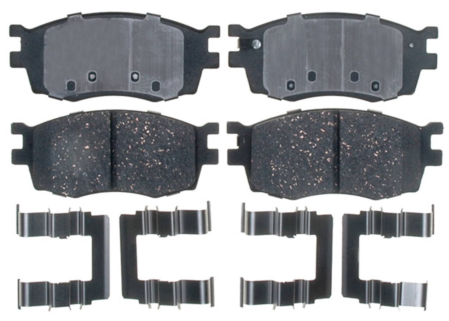ACDELCO PROFESSIONAL BRAKES - Ceramic Disc Brake Pad (Front) - ADU 17D1156CH