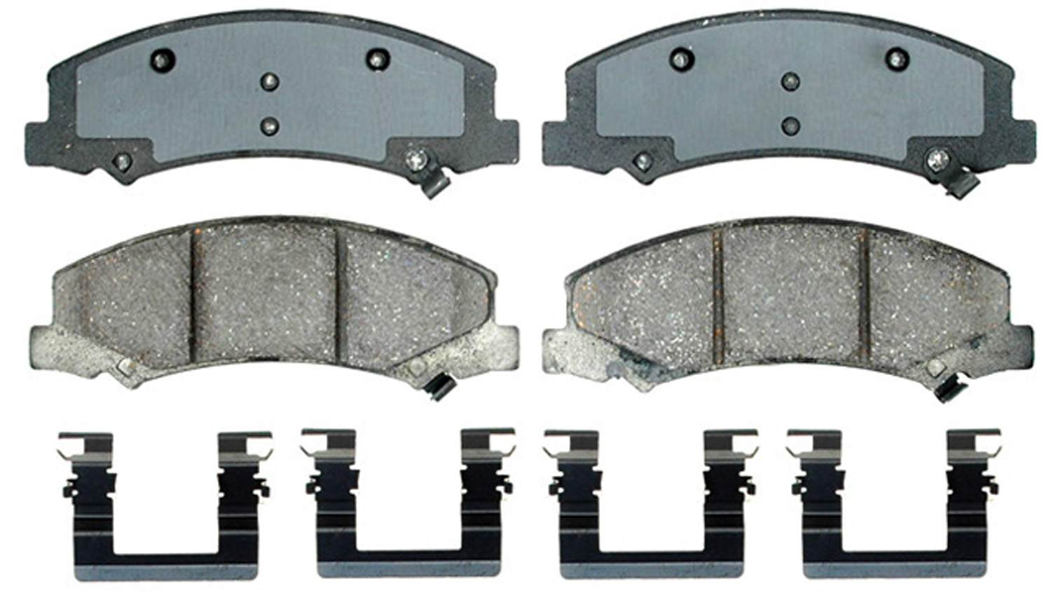 ACDELCO GOLD/PROFESSIONAL BRAKES - Ceramic Disc Brake Pad (Front) - ADU 17D1159CH