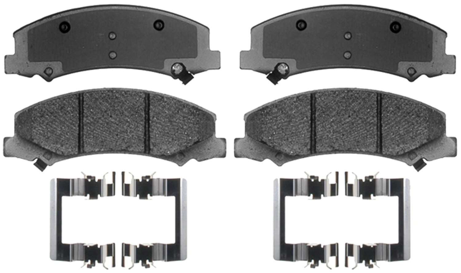 ACDELCO SPECIALTY - Police Semi-Metallic Disc Brake Pad (Front) - DCE 17D1159MHPV