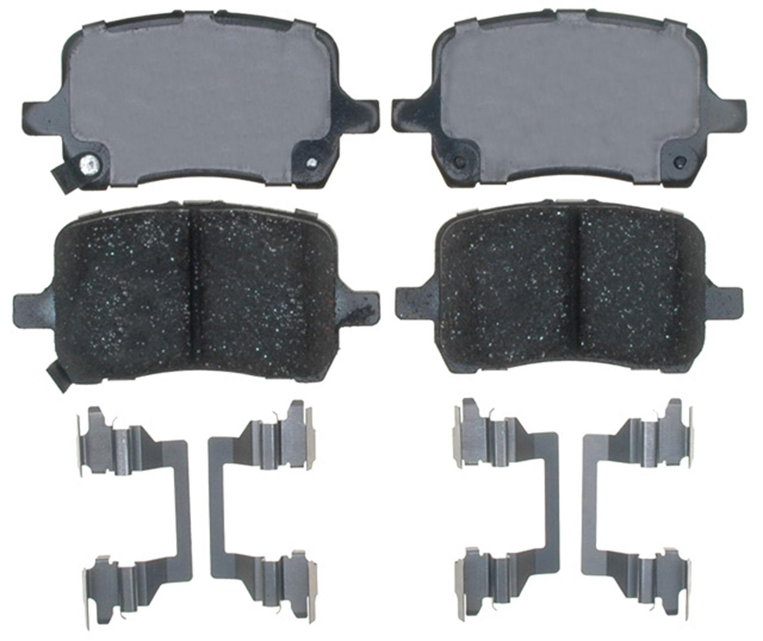 ACDELCO GOLD/PROFESSIONAL BRAKES - Ceramic Disc Brake Pad (Front) - ADU 17D1160CH