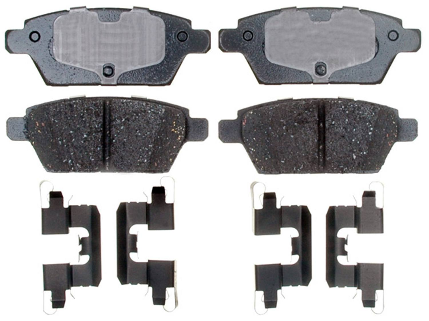 ACDELCO PROFESSIONAL BRAKES - Ceramic Disc Brake Pad (Rear) - ADU 17D1161CH