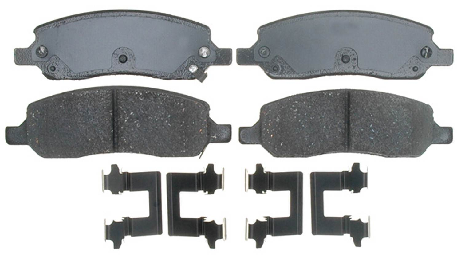 ACDELCO GOLD/PROFESSIONAL BRAKES - Ceramic Disc Brake Pad (Rear) - ADU 17D1172CH