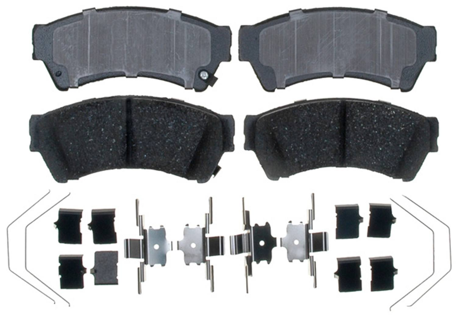 ACDELCO PROFESSIONAL BRAKES - Ceramic Disc Brake Pad (Front) - ADU 17D1192CH