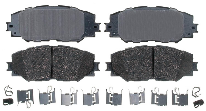 ACDELCO PROFESSIONAL BRAKES - Ceramic - ADU 17D1210CH