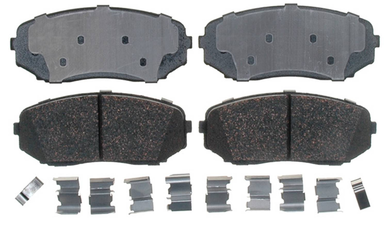 ACDELCO PROFESSIONAL BRAKES - Ceramic Disc Brake Pad (Front) - ADU 17D1258ACH