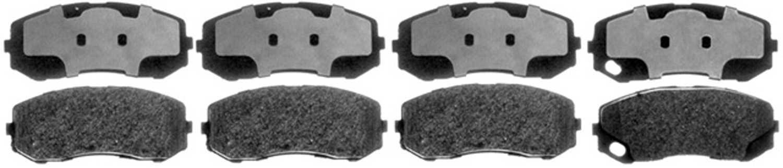 ACDELCO PROFESSIONAL BRAKES - Semi Metallic Disc Brake Pad - ADU 17D1265MH