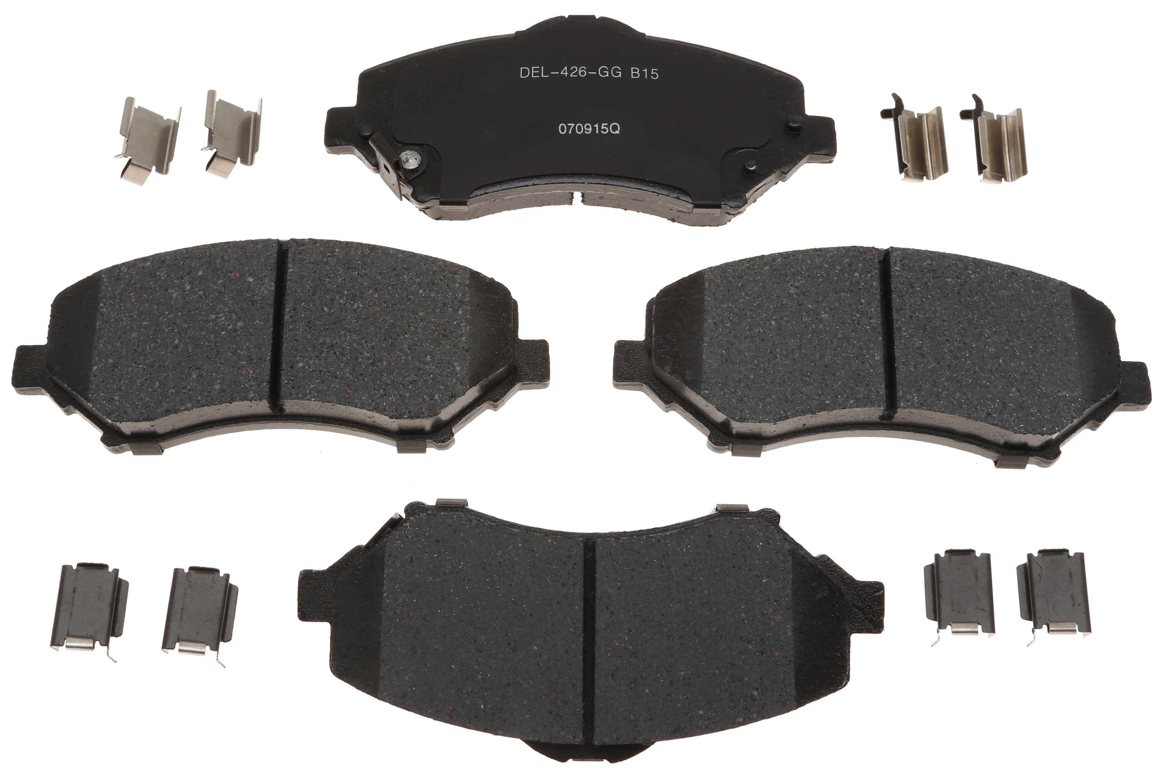 ACDELCO PROFESSIONAL BRAKES - Ceramic Disc Brake Pad (Front) - ADU 17D1273ACH