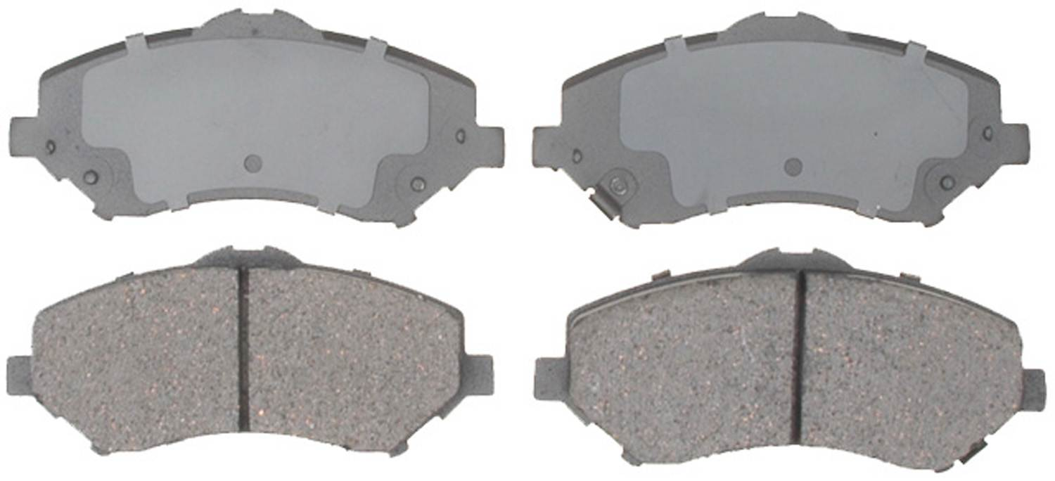 ACDELCO PROFESSIONAL BRAKES - Ceramic Disc Brake Pad (Front) - ADU 17D1273CH