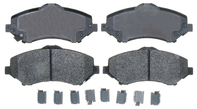 ACDELCO PROFESSIONAL BRAKES - Semi Metallic - ADU 17D1273MH