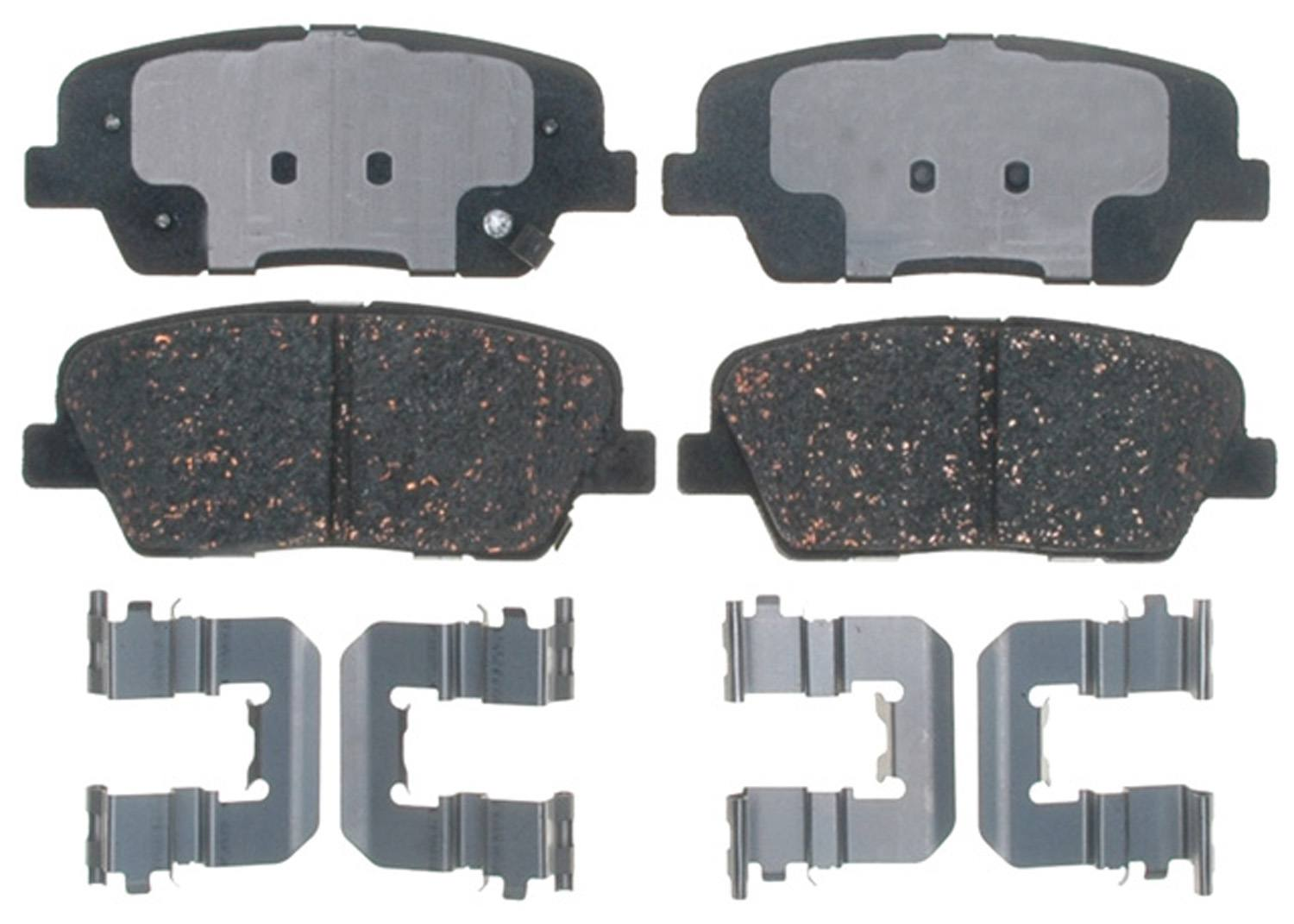 ACDELCO GOLD/PROFESSIONAL - Ceramic (Rear) - DCC 17D1284CH