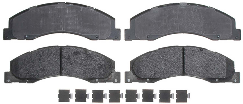 ACDELCO PROFESSIONAL BRAKES - Semi Metallic Disc Brake Pad (Front) - ADU 17D1328MH