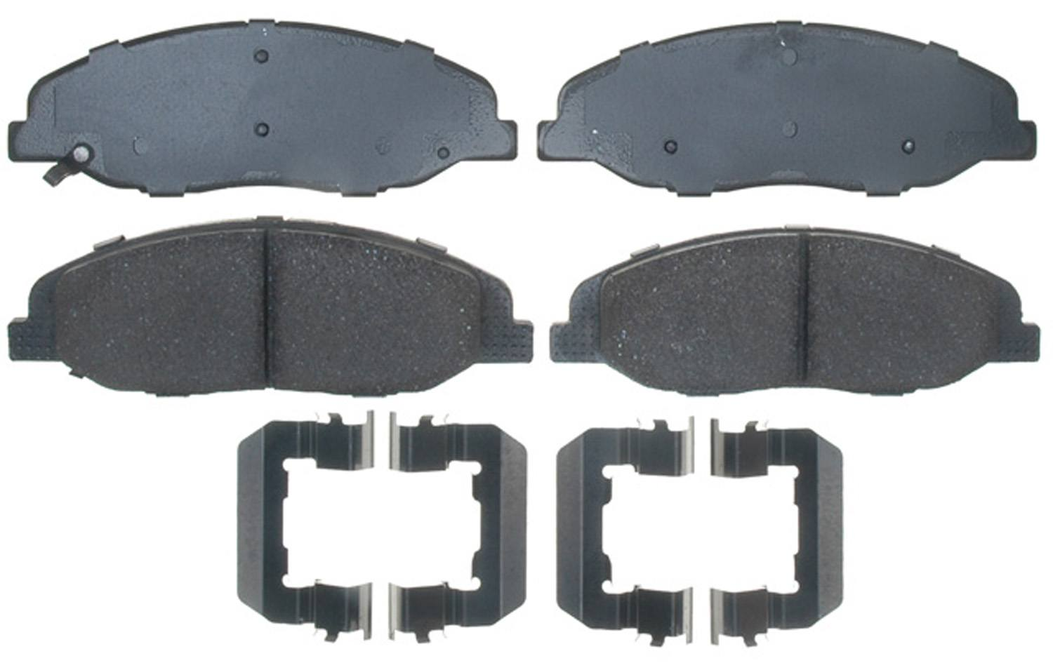 ACDELCO PROFESSIONAL BRAKES - Ceramic Disc Brake Pad (Front) - ADU 17D1332CH