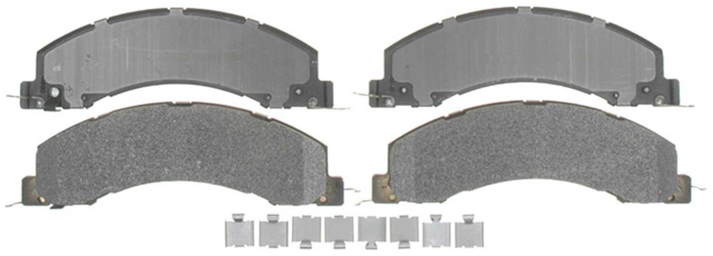 ACDELCO PROFESSIONAL BRAKES - Semi Metallic Disc Brake Pad (Front) - ADU 17D1335MH