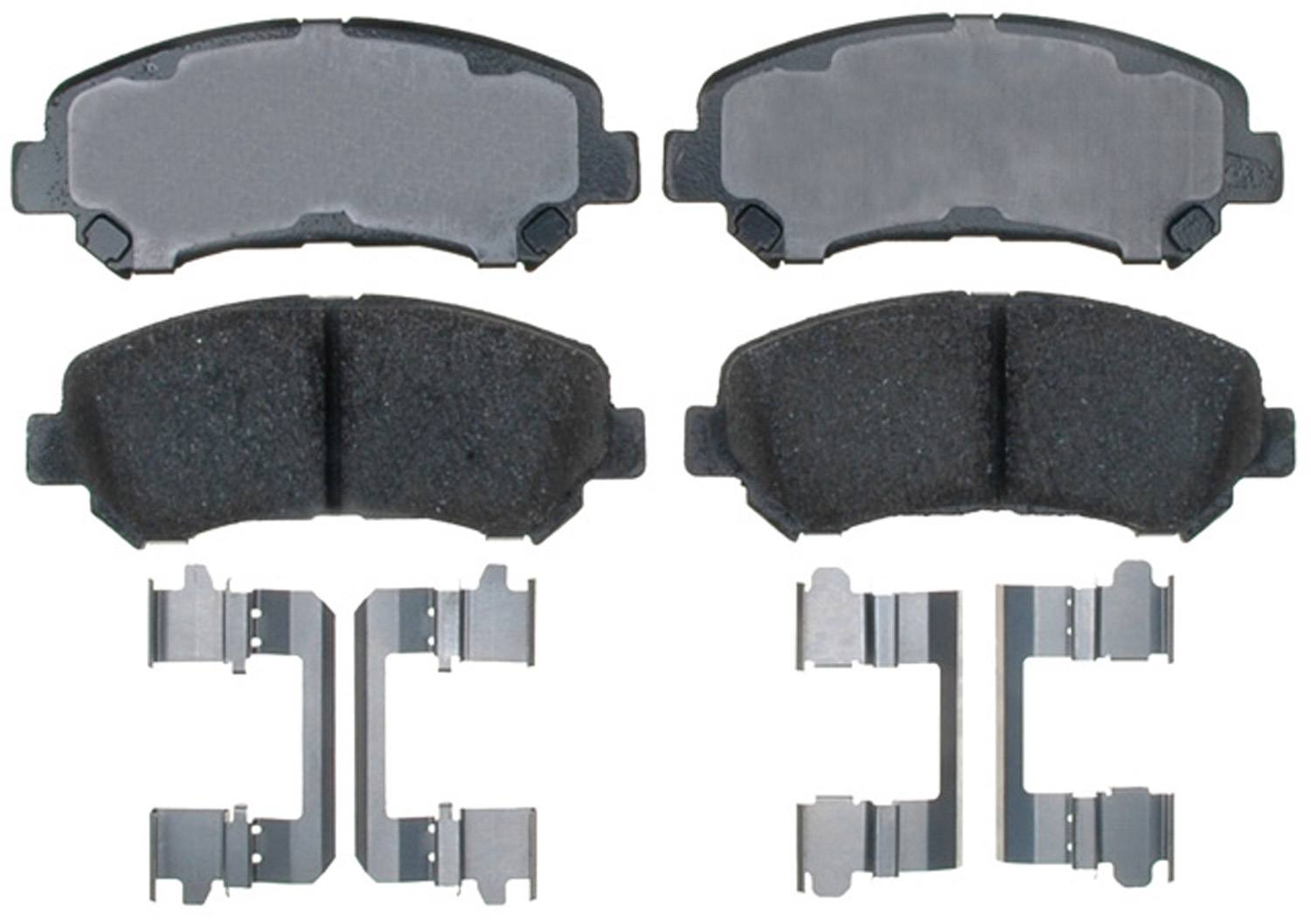 ACDELCO PROFESSIONAL BRAKES - Ceramic Disc Brake Pad (Front) - ADU 17D1338CH