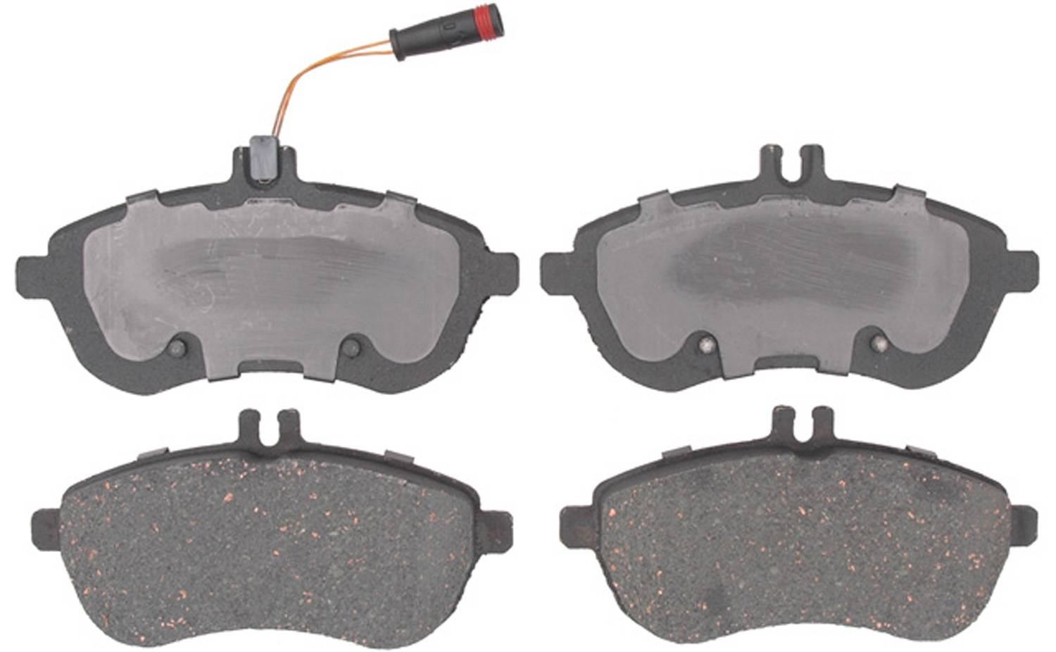 ACDELCO PROFESSIONAL BRAKES - Ceramic Disc Brake Pad (Front) - ADU 17D1340CH