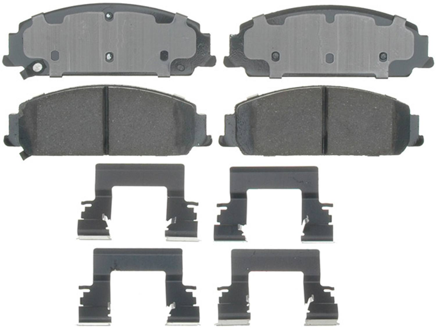 ACDELCO PROFESSIONAL BRAKES - Ceramic Disc Brake Pad (Front) - ADU 17D1351CH
