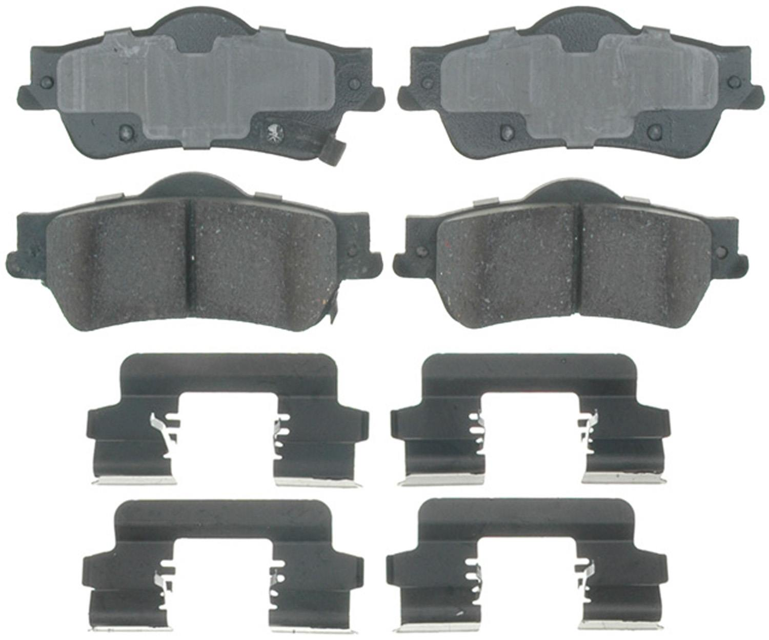 ACDELCO PROFESSIONAL BRAKES - Ceramic Disc Brake Pad (Rear) - ADU 17D1352CH