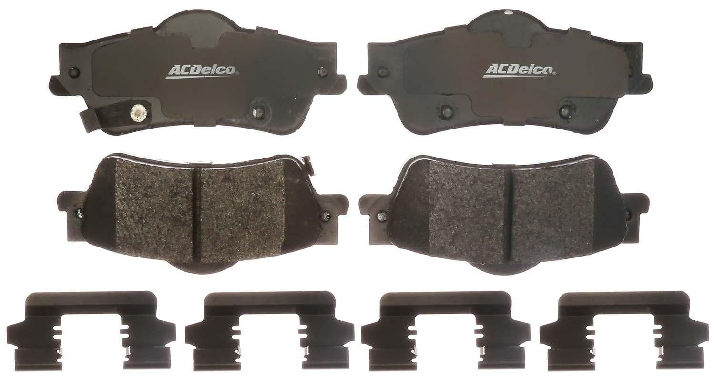 ACDELCO SPECIALTY - Police Semi-Metallic Disc Brake Pad - DCE 17D1352MHPVF1