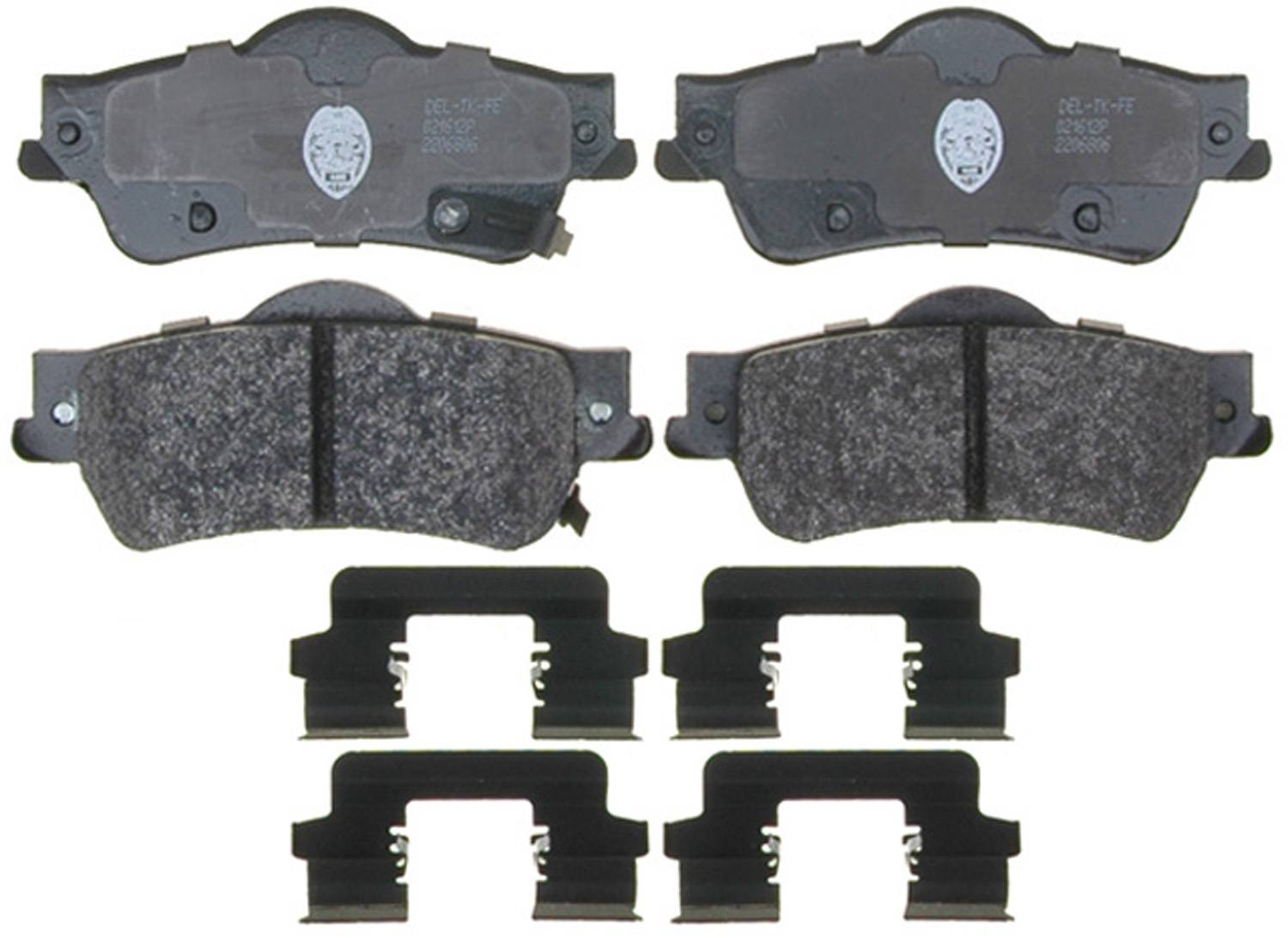 ACDELCO SPECIALTY - Police Semi-Metallic Disc Brake Pad (Rear) - DCE 17D1352MHPV