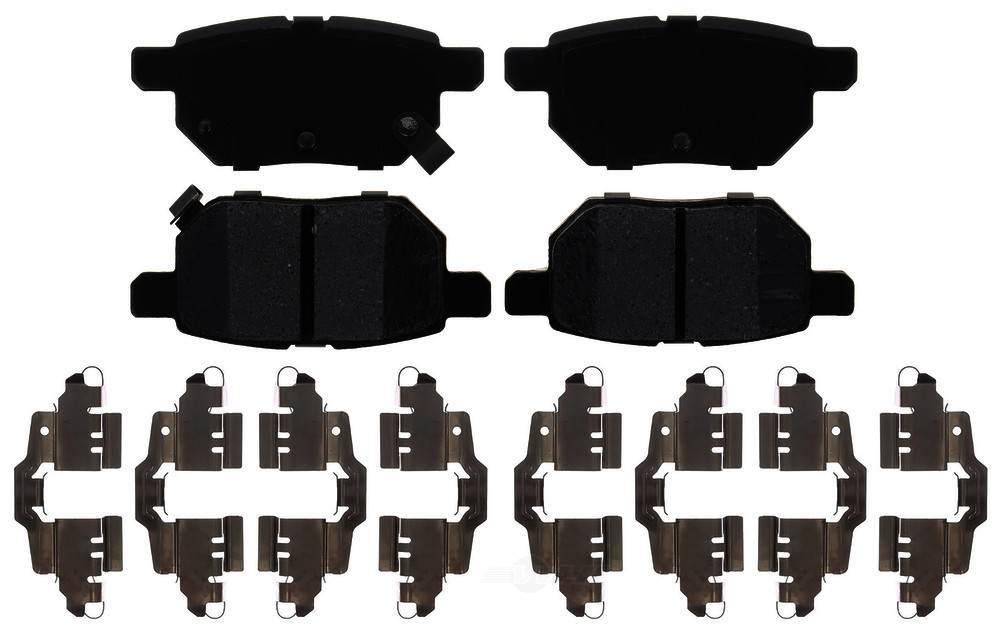 ACDELCO PROFESSIONAL BRAKES - Ceramic Disc Brake Pad - ADU 17D1354CH