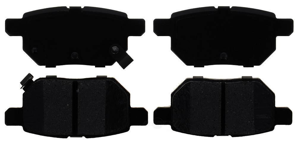 ACDELCO PROFESSIONAL BRAKES - Ceramic Disc Brake Pad - ADU 17D1354C